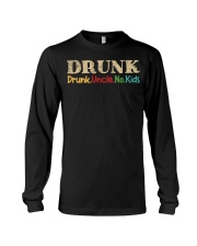 DRUNK Drunk uncle no kids Long Sleeve Tee thumbnail