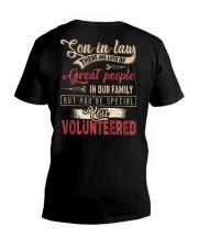 T-SHIRT - SON-IN-LAW - VINTAGE - YOU VOLUNTEERED V-Neck T-Shirt thumbnail