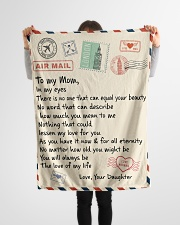 """Gifts for Mom - Fleece Blanket  Small Fleece Blanket - 30"""" x 40"""" aos-coral-fleece-blanket-30x40-lifestyle-front-14"""