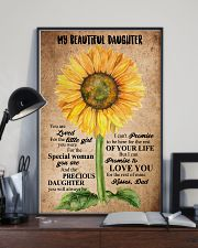 TO MY DAUGHTER - SUNFLOWER - BEAUTIFUL GIRL 16x24 Poster lifestyle-poster-2