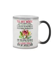 TO MY WIFE Color Changing Mug thumbnail