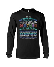 MOTHER-IN-LAW - FUNNY T-SHIRT - THANK YOU Long Sleeve Tee thumbnail
