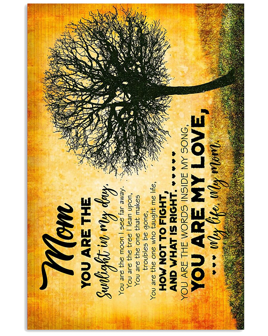 POSTER - TO MY MOM - TREE - YOU ARE 16x24 Poster