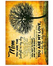 POSTER - TO MY MOM - TREE - YOU ARE 16x24 Poster front