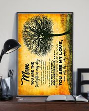 POSTER - TO MY MOM - TREE - YOU ARE 16x24 Poster lifestyle-poster-2