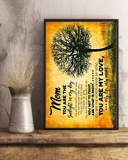 POSTER - TO MY MOM - TREE - YOU ARE 16x24 Poster lifestyle-poster-3