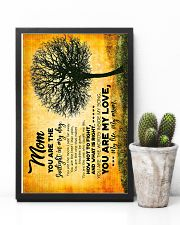 POSTER - TO MY MOM - TREE - YOU ARE 16x24 Poster lifestyle-poster-8