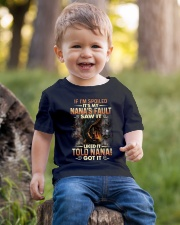 GRANDMA TO GRANDSON - DRAGON - SPOILED Youth T-Shirt lifestyle-youth-tshirt-front-4