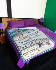 "TO MY BOYFRIEND Large Fleece Blanket - 60"" x 80"" aos-coral-fleece-blanket-60x80-lifestyle-front-01"