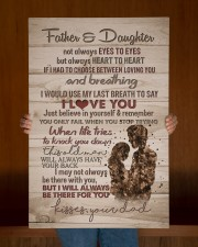 To My Daughter - Father And Daughter Not Always  20x30 Gallery Wrapped Canvas Prints aos-canvas-pgw-20x30-lifestyle-front-22
