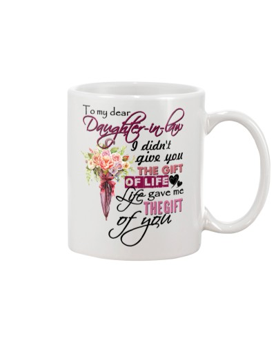 TO MY DAUGHTER-IN-LAW - FLOWER - GIFT OF LIFE