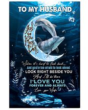 TO MY HUSBAND - DOLPHIN - I LOVE YOU 16x24 Poster front