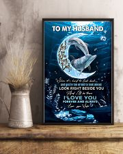 TO MY HUSBAND - DOLPHIN - I LOVE YOU 16x24 Poster lifestyle-poster-3