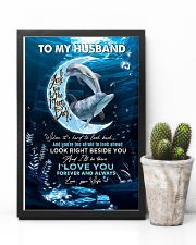 TO MY HUSBAND - DOLPHIN - I LOVE YOU 16x24 Poster lifestyle-poster-8
