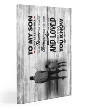 Dad To Son - Canvas 20x30 Gallery Wrapped Canvas Prints front