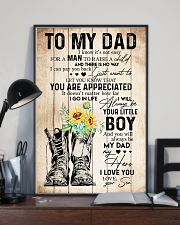 TO MY DAD - SUNFLOWER - YOU ARE APPRECIATED 16x24 Poster lifestyle-poster-2
