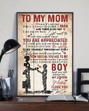 TO MY MOM - YOU ARE APPRECIATED 16x24 Poster lifestyle-poster-2