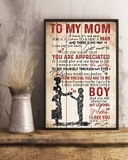 TO MY MOM - YOU ARE APPRECIATED 16x24 Poster lifestyle-poster-3