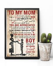 TO MY MOM - YOU ARE APPRECIATED 16x24 Poster lifestyle-poster-8