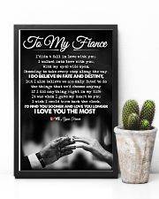 TO MY FIANCE 16x24 Poster lifestyle-poster-8