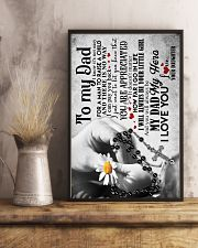To My Dad - Hands - Poster 16x24 Poster lifestyle-poster-3