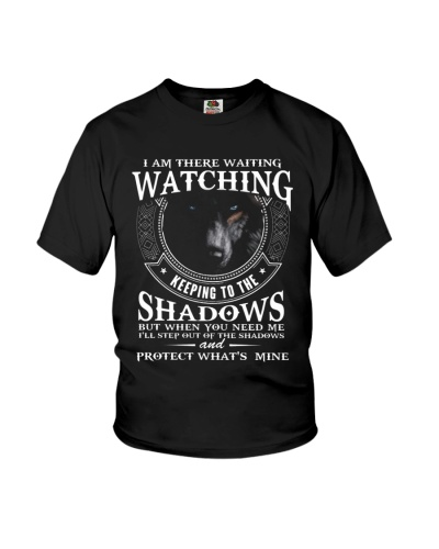 I am there waiting watching keeping to the shadow