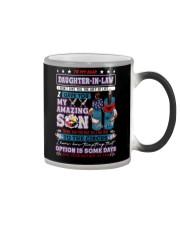 Daughter-in-law - Native American - Circus - Mug Color Changing Mug tile