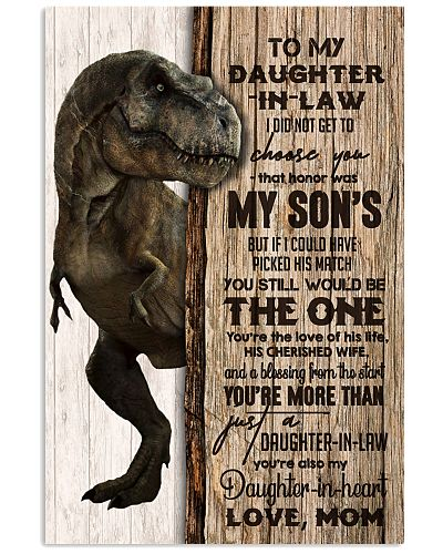 TO MY DAUGHTER-IN-LAW - T REX - THE ONE
