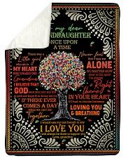 Grandma to Granddaughter - I Love You  Sherpa Fleece Blanket tile
