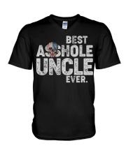 Best asshole Uncle ever V-Neck T-Shirt thumbnail