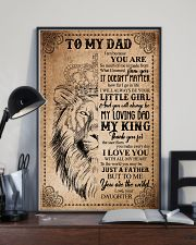 POSTER - TO MY DAD - LION - THANK YOU 16x24 Poster lifestyle-poster-2