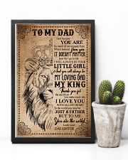 POSTER - TO MY DAD - LION - THANK YOU 16x24 Poster lifestyle-poster-8
