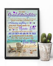 To Granddaughter - Just Go Forth And Aim For The 16x24 Poster lifestyle-poster-8