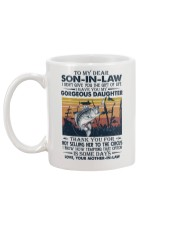 TO MY SON-IN-LAW - FISHING - VINTAGE - CIRCUS Mug back