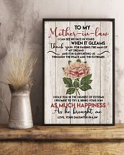 TO MY MOTHER-IN-LAW - FLOWER - THANK YOU 16x24 Poster lifestyle-poster-3