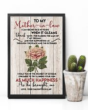 TO MY MOTHER-IN-LAW - FLOWER - THANK YOU 16x24 Poster lifestyle-poster-8