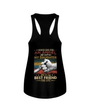I ASKED GOD - MY DAUGHTER - BEST FRIEND Ladies Flowy Tank thumbnail