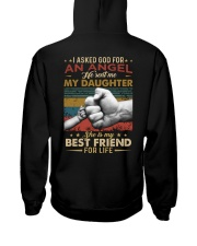 I ASKED GOD - MY DAUGHTER - BEST FRIEND Hooded Sweatshirt thumbnail