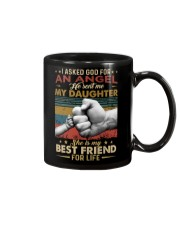 I ASKED GOD - MY DAUGHTER - BEST FRIEND Mug thumbnail