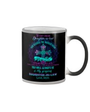 To My Daughter-in-law - God Blessed The Broken Color Changing Mug thumbnail