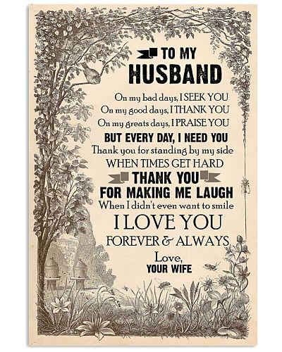 TO MY HUSBAND - LOVE HOUSE - I LOVE YOU