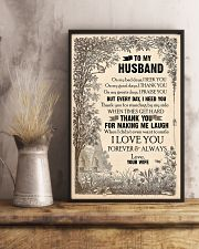 TO MY HUSBAND - LOVE HOUSE - I LOVE YOU 16x24 Poster lifestyle-poster-3