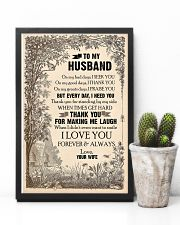 TO MY HUSBAND - LOVE HOUSE - I LOVE YOU 16x24 Poster lifestyle-poster-8