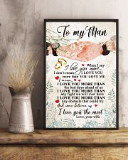 TO MY MAN 16x24 Poster lifestyle-poster-3