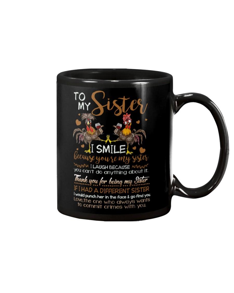 TO MY SISTER - GIRLS - THANK YOU Mug