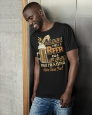 There's a 999 Chance I Need a Beer Classic T-Shirt apparel-classic-tshirt-lifestyle-front-37