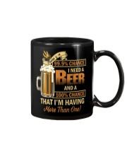 There's a 999 Chance I Need a Beer Mug thumbnail