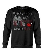 Stepping Into My 65TH Birthday Women High Heel Crewneck Sweatshirt thumbnail