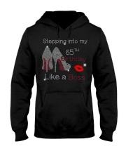 Stepping Into My 65TH Birthday Women High Heel Hooded Sweatshirt thumbnail