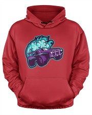 Rocket League Octane Boost Men's All Over Print Hoodie aos-men-hoodie-ghosted-front-03